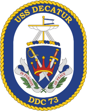 USS Decatur (DDG-73) - Image: USS Decatur DDG 73 Crest