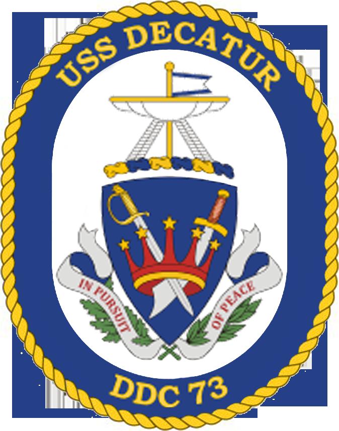 USS Decatur DDG-73 Crest