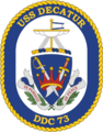 USS Decatur DDG-73 Crest.png