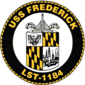 USS Frederick (LST-1184) - Image: USS Frederick (LST 1184) COA
