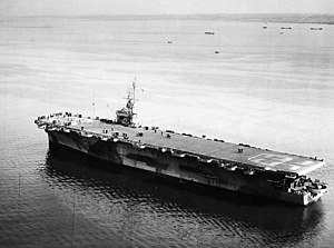USS Kasaan Bay (CVE-69) in Narragansett Bay 1944.jpg