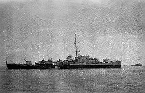USS Lloyd E Acree (DE-356), in 1944