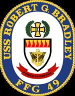 USS Robert G. Bradley FFG-49 Crest.png