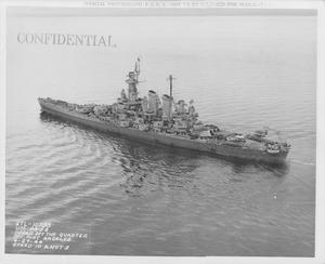 USS Washington off Port Angeles NARA STL-10735.tif