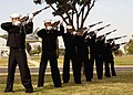 US Navy 021023-N-4211M-001 21 gun salute at Naval Air Station Lemoore.jpg