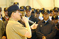 US Navy 030325-N-0252D-001 Master Chief Petty Officer of the Navy (MCPON) Terry D. Scott addresses Sailors assigned to Light Helicopter Anti-Submarine Squadron Fifty One (HSL-51) during his visit to Japan.jpg