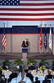 US Navy 040109-N-5328N-021 41st President of the United States George H.W. Bush addresses an audience of 300 specially invited guests at the National Museum of Naval Aviation.jpg