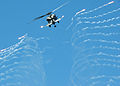 US Navy 050330-N-7532C-168 An HH-60H Seahawk ires flares during an air power demonstration.jpg