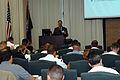 US Navy 060509-N-0924R-010 Bruce McCaffery gives a brief seminar to local military personal at Naval Amphibious Base Little Creek.jpg