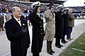 US Navy 061202-N-3642E-106 Navy leadership render honors during opening ceremonies at the Army vs. Navy football game.jpg