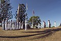 US Navy 070505-N-5253W-001 Members of the 7th Fleet Band, left, and the Australian Guard stand ready to perform at the 65th Commemoration of the Battle of the Coral Sea.jpg