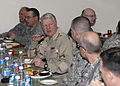 US Navy 100107-F-4806N-012 Chief of Naval Operations (CNO) Adm. Gary Roughead eats lunch with Sailors assigned to International Security Assistance Force Joint Command.jpg