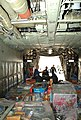 US Navy 101203-N-0092J-148 Sailors and Marines assigned to the U.S. Navy flight demonstration squadron, the Blue Angels, load pallets filled with t.jpg