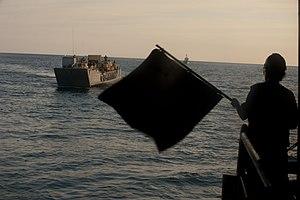 US Navy 111211-N-PB383-902 An assault craft approaches the well deck.jpg