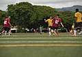 US Navy Sailors and the People's Liberation Army Navy Midshipmen play soccer match 151013-N-WC566-055.jpg