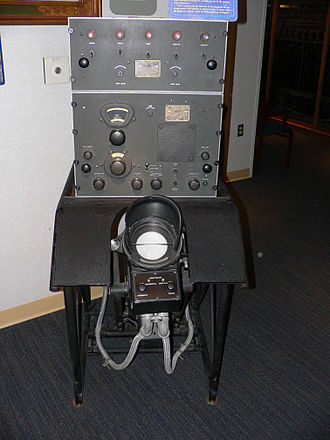 Radio direction finder - World War II US Navy high frequency radio direction finder