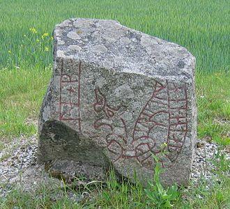 Jarlabanke Runestones - The runestone U 140.