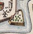 Uitsnede uit Utrechtse stadsplattegrond Atlas van Loon met oa bastion sterrenburg en bijlhouwerstoren.jpg