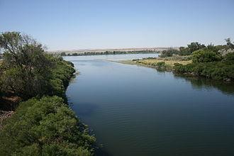 Umatilla River - Mouth of the Umatilla River at the Columbia River in Umatilla, Oregon