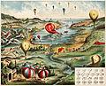 Une expédition aérienne, board game, ca. 1895.jpg
