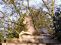 Unicorn Gate, Kew Gardens