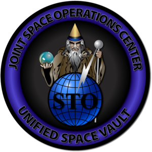614th Air and Space Operations Center - Unified Space Vault Emblem