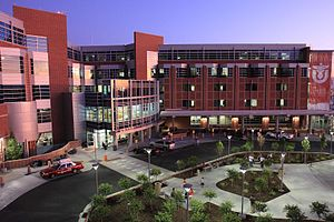 University of Utah Hospital - Image: University of Utah Hospital in 2009