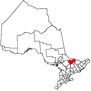 Unorganized South Nipissing District - Image: Unorg South Nipissing
