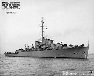 USS <i>Albuquerque</i> (PF-7) Tacoma-class patrol frigate