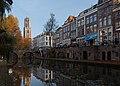 Utrecht, de Domtoren (RM36075) vanaf de Oudegracht 230 ongeveer foto5 2015-11-01 08.56.jpg