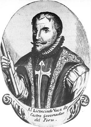 Vaca de Castro, Cristóbal (1492-1566)