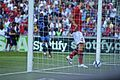 Vadim Demidov retrieves ball after Ashley Young goal.jpg