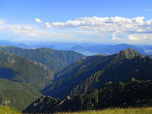 Val Grande National Park - Image: Val Grande dalla Bocchetta di Scaredi