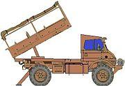 Valkiri multiple rocket launcher system