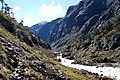 Valley Barun river downstream. 19th day of the hike. - panoramio.jpg