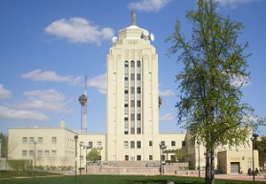Valley Municipal Building in Van Nuys, Los Ang...
