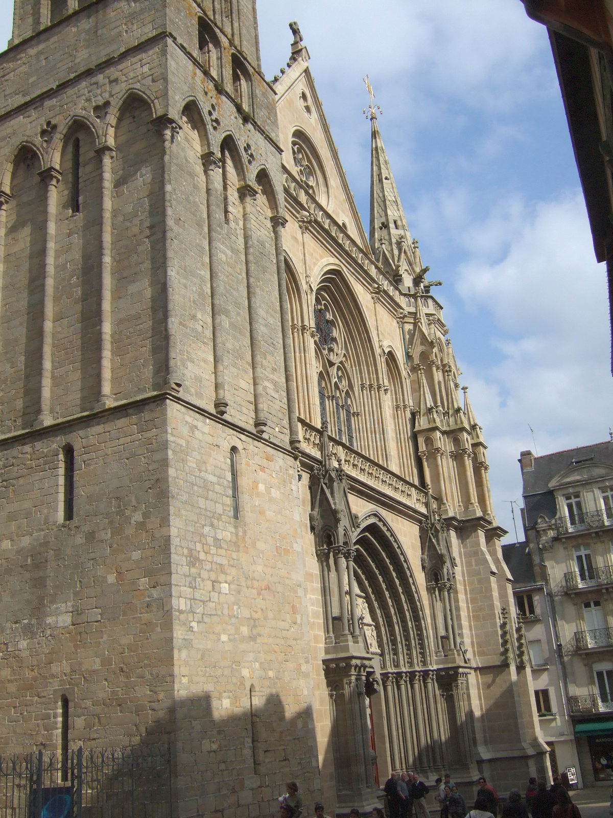 Vannes Cathedral Wikipedia