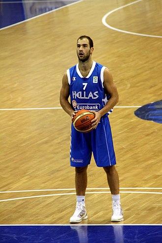 Greek Basket League Finals MVP - Vassilis Spanoulis was the Greek Basket League Finals MVP 3 times (2012, 2015, 2016).