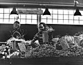 Vegetable and flower seller and stall, Pike Place Market, Seattle, Washington (4860576465).jpg
