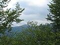 Veliki i Mali Strešer, vrhovi Vardenika, snimljeno sa Vlasine.jpg