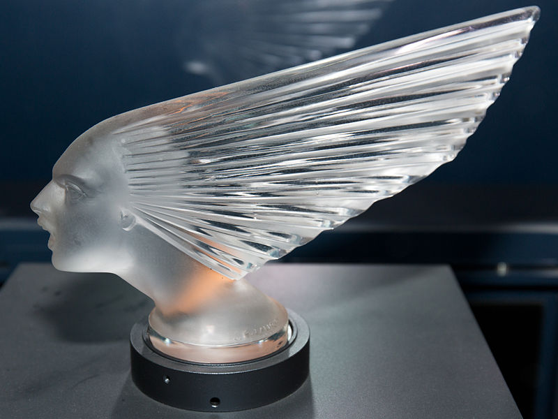 Victoire 2 by Rene Lalique Toyota Automobile Museum.jpg