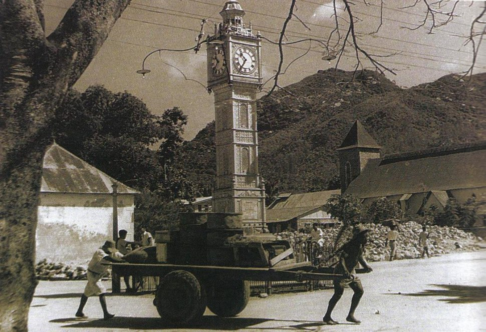 Victoria Clock Tower Seychelles