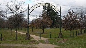 William Little (Australian poet) - Victoria Park in Ballarat.