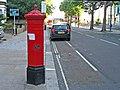 Victorian Penfold type postbox (rear view), Wood Lane, W12 - geograph.org.uk - 1981550.jpg