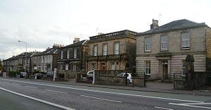 Edinburgh Southern (Scottish Parliament constituency) - Villas in Minto Street, Newington