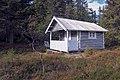 Vidunderlig enkel hytte på Totenåsen i Oppland.JPG