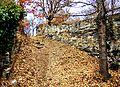 VieilEyguians. Rampe d'accès à l'ancien village.jpg