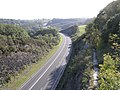 View from a bridge over the A477 - geograph.org.uk - 246101.jpg