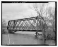 View northeast of west side - Bridge No. 50-200-035, Spanning Big Souix River at 474th Avenue, Dell Rapids, Minnehaha County, SD HAER SD-51-7.tif