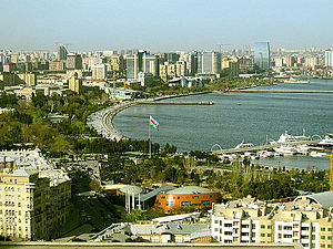 Baku bid for the 2020 Summer Olympics - View of Baku